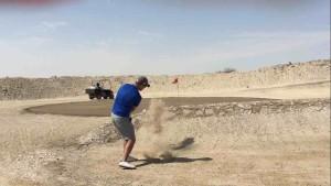 hiekkalyönti
